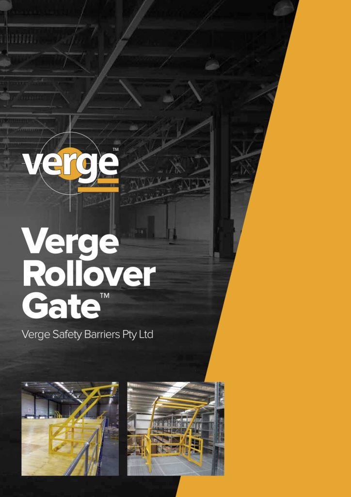 mezzanine pallet gate verge safety barriers